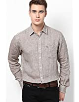 Grey Full Sleeves Casual Shirts Allen Solly