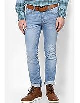 Light Blue Slim Fit Jeans (skanders)