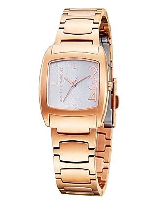 Adolfo Dominguez Watches 39008 - Reloj de Señora cuarzo brazalete metálico Dorado