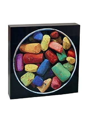 Art Block Chalk Bucket - Fine Art Photography On Lacquered Wood Blocks