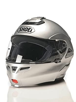 Shoei Casco Multitec Monocolor Candy (Plata)