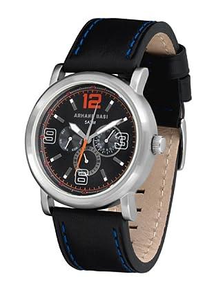 ARMAND BASI A0891G03 - Reloj de Caballero movimiento de cuarzo con correa de piel Negra