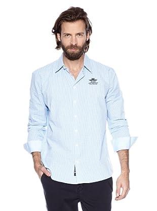 NZA New Zealand Auckland Camisa Básica Queronea (Azul Claro)