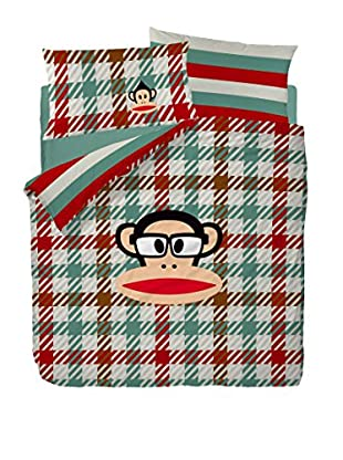 Paul Frank Funda Nórdica Punk (Verde / Rojo)