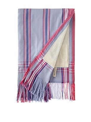Nomadic Thread Society Fringed Surf Sarong Towel (Lav/Pink/Blue)
