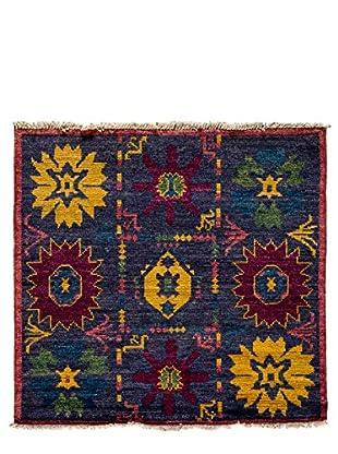 Darya Rugs Kaitag Oriental Rug, Blue, 4' 5