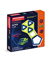 Magformers Classic Set, Multi Color (62 Pieces)