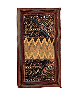Navaei & Co Teppich Persian Classic Patchwork mehrfarbig 113 x 60 cm