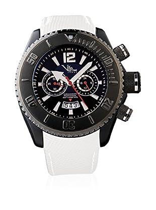 Vip Time Italy Uhr mit Japanischem Quarzuhrwerk VP5014WH _BK schwarz/weiß 50.00  mm