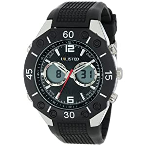 Kenneth Cole Polyurethane Strap for Analogue and Digital Watch
