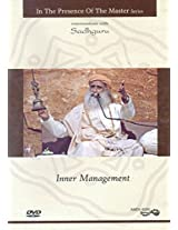 In The Presence of The Master Series: Inner Management (DVD) (with Booklet Inside) - Sadhguru - Amut