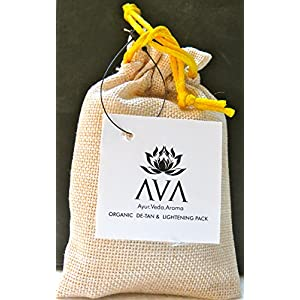 AVA ORGANIC DE-TAN & LIGHTENING PACK
