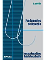 Fundamentos De Derecho/ Fundamentalism of Rights