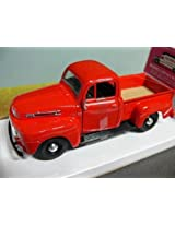 1948 Ford F-1 Pickup Red Diecast Car Model 1:25