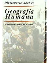 Diccionario Akal De Geografia Humana/ The Dictionary of Human Geography