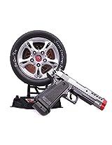 Sunshine Laser Target Gun Toy, Music and Lights, Shooting Game