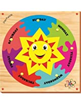 Kinder Creative Day Puzzle With Knobs