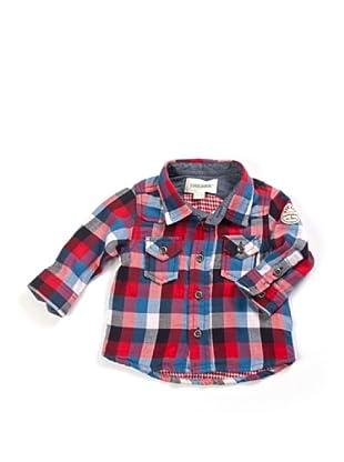 Diesel Baby Hemd (Rot/Blau/Weiß)