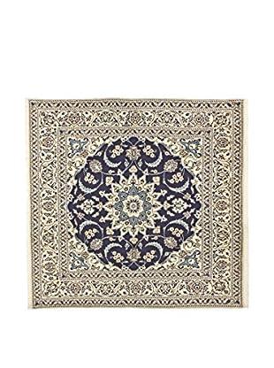 L'Eden del Tappeto Teppich Kashmar grau/blau 195t x t192 cm