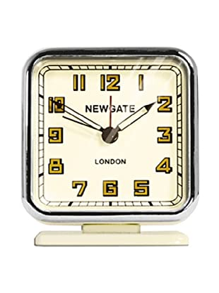 Newgate The Strand Mini Alarm Clock, Cream
