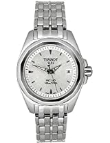 Tissot Analogue Silver Dial Women's Watch - T0080101103100