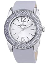 Festina Festina F16592-2 Ladies Nylon Leather Strap Watch - F16592/2