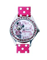 Disney Minnie Analogue Watch - Pink (AW100223)
