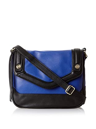 co-lab by Christopher Kon Women's Carlina Cross-Body, Cobalt/Black