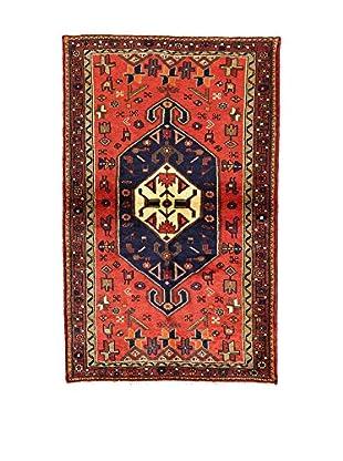 L'Eden del Tappeto Teppich Hamadan rot/mehrfarbig 159t x t103 cm