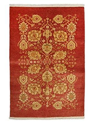 Darya Rugs Ottoman Oriental Rug, Red, 4' 2
