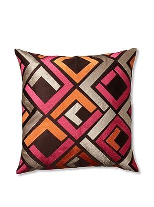 Trina Turk Embroidered Avenida Maze Pillow