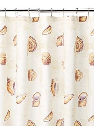 Tommy Bahama Kemps Bay Shower Curtain, Ivory