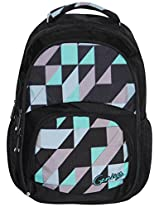 Genius Black Backpack(GN Back Pack 1406_BLK)