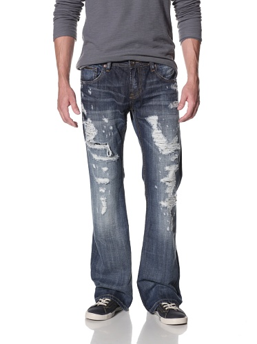 Cult of Individuality Men's Trysten Bootcut Jeans (Hitcher)