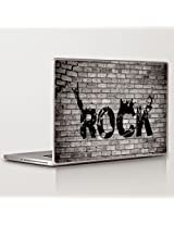 Theskinmantra Rock on the wall Laptop Skin Decal