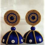 Blue Traditional Earring