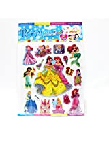 MBGiftsGalore Princess Sticker Small