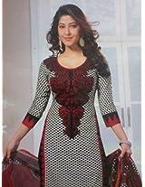 Samskruti Unstitched Cotton Printed Chudidar (Dress Material) (421)