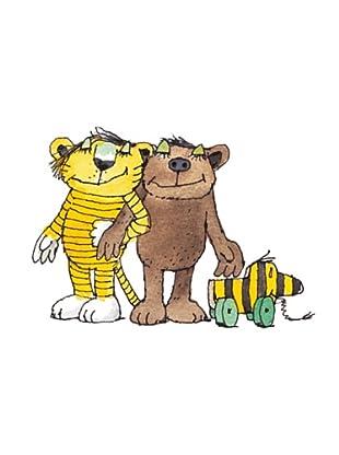 Beiwanda Kids Wandtattoo Tigerente Tiger und Bär