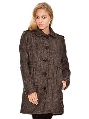 Springfield Abrigo Tweed (marrón oscuro)
