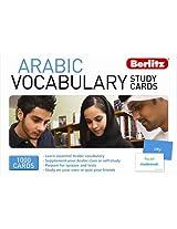 Arabic Berlitz Vocabulary Study Cards