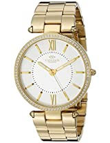 Oniss Paris Women's ON6021N-LGW Stupendo Collection Analog Display Swiss Quartz White Watch