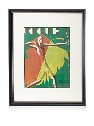 Original Vogue Cover from 1931 by Eduardo Benito