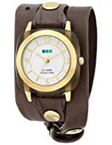 La Mer Collections Women's LMACETATE002 Analog Display Japanese Quartz Grey Watch