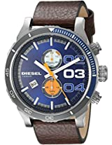 Diesel End of Season Double Dow Analog Blue Dial Men's Watch - DZ4350
