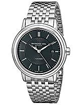 Raymond Weil Men's 2847-ST-20001 Maestro Analog Display Swiss Automatic Silver Watch