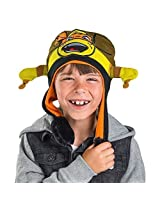 Disney TMNT Ninja Turtles Michelangelo Kids Flipeez Action Hat- Great Holidays Gift