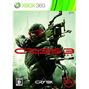 新品 Xbox360ソフト クライシス 3