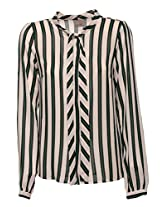 Vero Moda Women Solid White Shirt