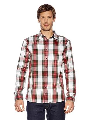 Redgreen Camisa Enake (Rojo / Crudo / Verde)